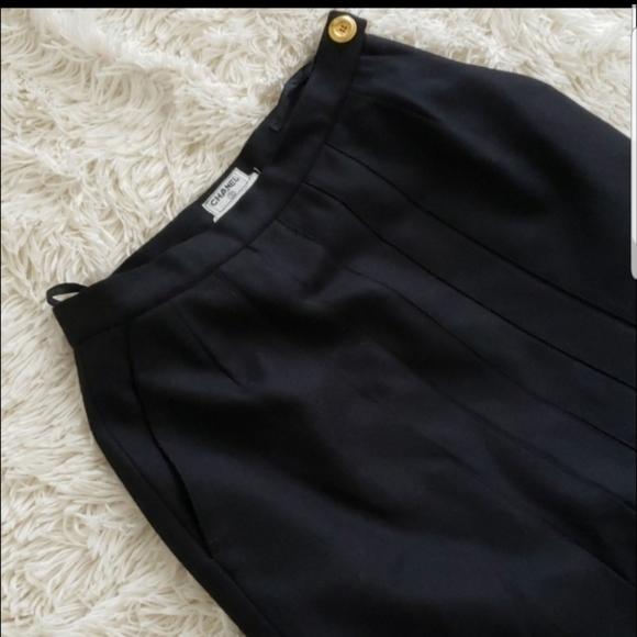 CHANEL Dresses & Skirts - CHANEL VINTAGE PLEADED SKIRT